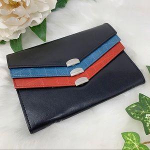SAMSONITE bonded leather wallet multi pocket
